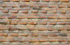 Tło stary ściana z cegieł Obrazy Royalty Free