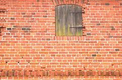 Tło stary czerwony ściana z cegieł obrazy royalty free