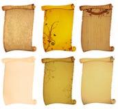tło stary papierowy ślimacznicy styl Fotografia Stock
