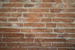 Tło stary rocznika ściana z cegieł Fotografia Royalty Free