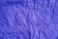 Tło stary zmięty barwiony pergaminowy papier Obrazy Royalty Free