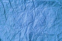 Tło stary zmięty barwiony pergaminowy papier Zdjęcia Royalty Free