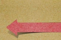 tło strzałkowaty papier Fotografia Stock