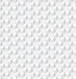 Tło - szara geometryczna wektorowa sześcian tekstura Fotografia Royalty Free