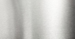 tło szczotkujący metal Obrazy Stock