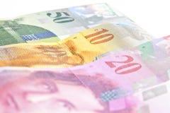 Szwajcarscy franki obraz royalty free