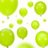 tło szybko się zwiększać partii zielonej obraz stock