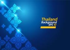 tło tajlandzki royalty ilustracja