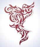 tło tatuaż Obrazy Royalty Free