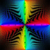 Tło, tekstura, abstrakcja Barwioni okręgi, piłki na czarnym tle izolują ilustracji