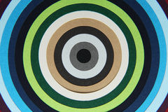 Tło tekstura barwiony papier w okręgi ilustracja wektor