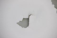Tło tekstura biała grunge betonowa ściana z obieranie farbą Zdjęcia Royalty Free