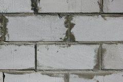 Tło tekstura biały Wagi lekkiej betonowy blok Zdjęcia Royalty Free