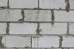 Tło tekstura biały Wagi lekkiej betonowy blok Obrazy Royalty Free
