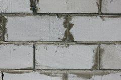 Tło tekstura biały Wagi lekkiej betonowy blok Zdjęcie Royalty Free