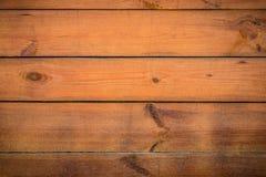 Tło, tekstura brown drewniane deski na całości ramy, Horyzontalna rama Obraz Stock