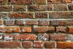 Tło, tekstura, czerwona cegła, stary brickwork zdjęcia royalty free