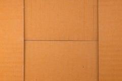 Tło, tekstura karton gofruje obraz royalty free