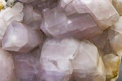Tło tekstura kryształy fotografia stock