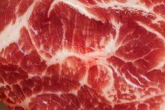 Tło tekstura marmurkowaty mięso Zdjęcie Stock