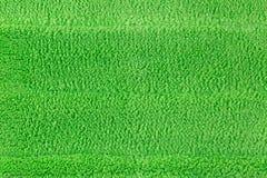 Tło tekstura nowy czyści zielonej microfiber kwacza podłoga Zdjęcia Stock