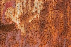 Tło tekstura rdzewiejąca stal Zdjęcia Stock