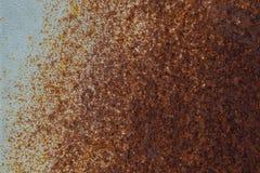 Tło tekstura rdzewiejąca stal Obrazy Stock