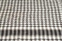 Tło tekstura, wzór Szalik wełna lubi Yasir Arafat P obraz stock
