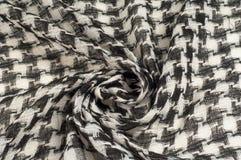 Tło tekstura, wzór Szalik wełna lubi Yasir Arafat P fotografia royalty free