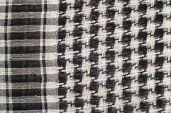 Tło tekstura, wzór Szalik wełna lubi Yasir Arafat P zdjęcie royalty free
