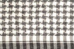 Tło tekstura, wzór Szalik wełna lubi Yasir Arafat P zdjęcia royalty free