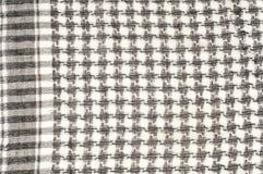 Tło tekstura, wzór Szalik wełna lubi Yasir Arafat P fotografia stock