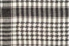 Tło tekstura, wzór Szalik wełna lubi Yasir Arafat P obraz royalty free