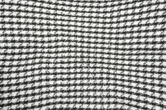 Tło tekstura, wzór Szalik wełna lubi Yasser Arafat Palestyński keffiyeh jest neutralny w kratkę czarny i biały zdjęcie royalty free