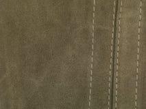 tło tekstura zielona rzemienna naturalna zdjęcie royalty free