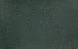 tło tekstura zielona rzemienna Zbliżenie fotografia Obrazy Stock
