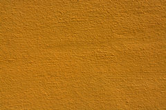 tło tekstury ściany żółty Zdjęcia Stock