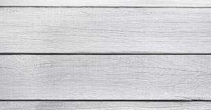 Tło tekstury białe deski panorama obrazy stock