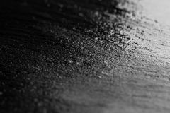 Tło tekstury czarny łupek Obrazy Royalty Free