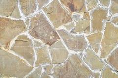 Tło, tekstury kamienna ściana nad całością ramy Horyzontalna rama Obraz Royalty Free