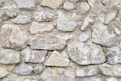 Tło, tekstury kamienna ściana nad całością ramy Horyzontalna rama Zdjęcie Stock