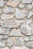 Tło, tekstury kamienna ściana nad całością ramy Vertical rama Obrazy Royalty Free