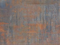 Tło tekstury metalu rdzy stary liść Obraz Stock