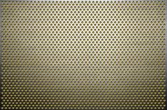 tło tekstury stara ceglana ściana Szarość metalu dziurkowaty prześcieradło Stalowy talerz z dziurami rhombus kształt zdjęcie royalty free
