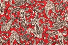 Tło tekstury tkaniny kwiecisty wzór Obrazy Royalty Free