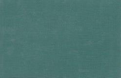 Tło tekstury zieleni tkaniny książkowa pokrywa Obraz Royalty Free