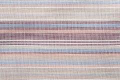 Tło textured bawełniany kolor paskujący obrazy stock