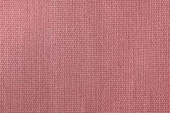 Tło textured jasnoróżowa naturalna tkanina zdjęcie stock