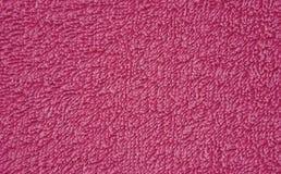Tło tkanina z ogłoszoną teksturą karmazyny zdjęcie royalty free