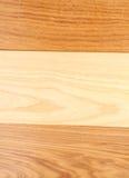 Tło trzy deski dąb, wiąz, akacja (,) zdjęcia stock